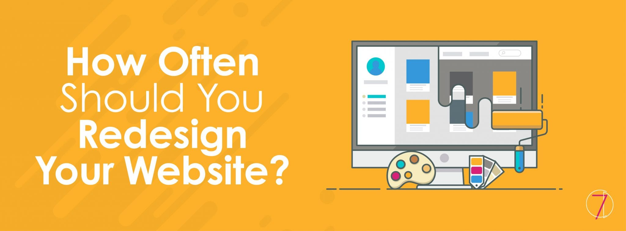 How often should you redesign your website?