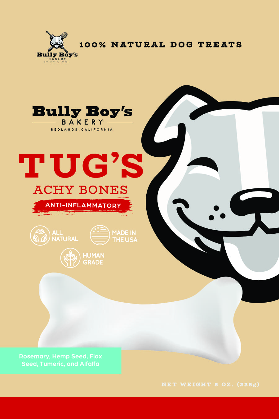 Bully Boys Package design FRONT APPROVED_Bully Boys-Tugs achy bones FRONT