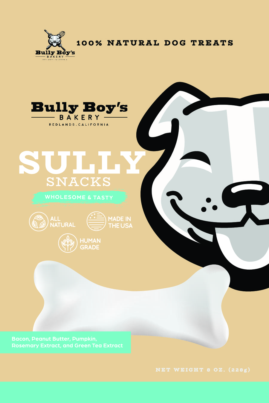 Bully Boys Sully Snacks-Package design FRONT_Bully Boys-Sully Snacks FRONT