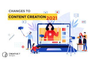 changes to content creation for 2021
