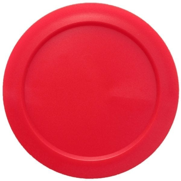 Small Round Red Air Hockey Puck