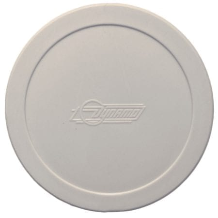 Large Dynamo Quiet White Air Hockey Puck