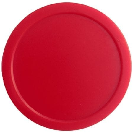 Red Air Hockey Puck