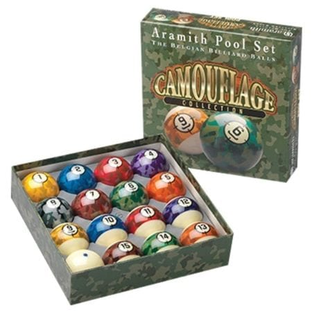 Aramith Camouflage Ball Set