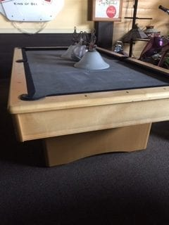 Used 8' Olhausen York Pool Table