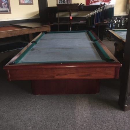 9' Used Modern Style Pool Table