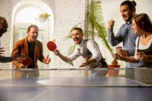 Different games to play on a ping pong table