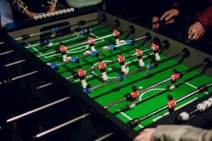Maintain your foosball table