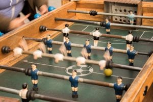 guide to restoring an old foosball table